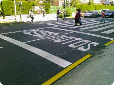 cruce de la avenida